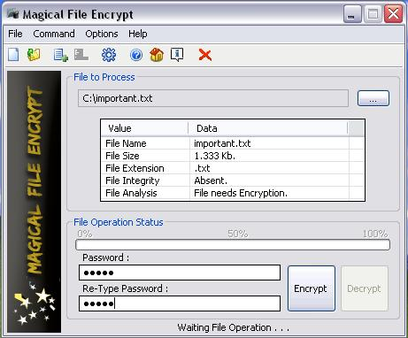 Magical File Encrypt